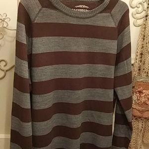 Aeropostale Stripe Knit Sweater